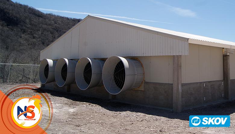 Los ventiladores de túnel de velocidad variable, pueden dar como resultado un ahorro de energía espectacular