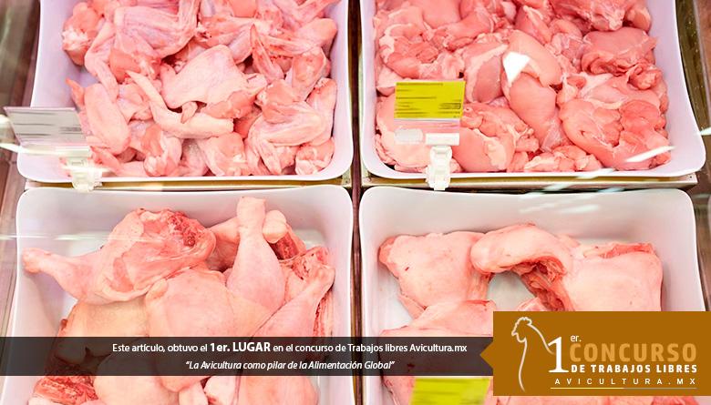 Intervención antimicrobiana con agua electrolizada neutra e hipoclorito de sodio en carne de pollo: formación de trihalometanos y su impacto en vida de anaquel